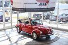 Beetle-New Convertible 1979 Volkswagen Super Beetle Convertible Red