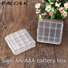 2x Plastic Case Holder Storage Box Cover for Rechargeable AA AAA Batteries