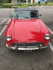 1964 MG MGB  1964 mgb pull out handle doors full body restoration