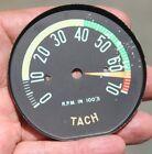 58-62 Corvette Tachometer Face Only