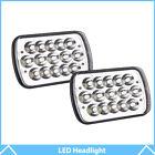 "Pair 7x6"" 5X7"" Sealed Beam LED Headlights Bulbs For Jeep Cherokee XJ Trucks"