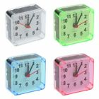 Sweep Silent Movement Beep Snooze Mini Travel Bed Square Quartz Alarm Clock