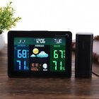 Indoor/Outdoor TS-70 DCF Wireless Weather Station Forecast Alarm Thermometer