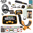 Garrett ACE 200 Metal Detector Unit; NEW PACKAGE DEAL 1141070 Retail $442