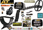 Garrett AT Gold Metal Detector with Extras NEW PKG MS-2 Headphones Retail $1047
