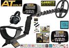 Garrett AT Gold Metal Detector with MS-2 Headphones for Detecting Retail $750