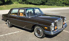 Mercedes-Benz 280SEL  1972 Mercedes 280 SEL 4.5 Sedan with sunroof