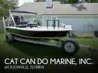 2007 Cat Can Do Marine, Inc. Finwater 18 Used