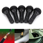 4x Auto TR412 tire valve stems short tubeless snap-in valve wheelstires parts TE