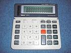 VINTAGE IBICO 124 S DUAL POWER BASIC DESKTOP CALCULATOR W/ TAX FUNCTION - NICE