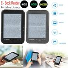 E-book Reader E-reader 6 Inch E-ink Screen MP3 Player with Turn Page Buttons