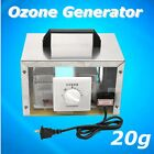 US 20g Commercial Ozone Generator Disinfection Machine Air Purifier Steel Cover