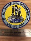 International Treasure Hunting Society 1st Championship Treasure Hunt Patch 1979