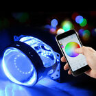 Nice RGB LED Light Devil Demon Eagle Eyes Bulb Bluetooth APP Control Headlight