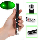 5mw 532nm Green 2in1 Beam Light Star Cap Projector Laser Pointer Pen NEW!!