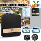 WiFi 10mW Waterproof Wireless Doorbell EU/US Plug 52 Song Chime Door Bell SOS WB