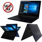 HD 360° Touchscreen Laptop Tablet Gaming PC Windows 10 Intel Quad-Core WiFi 32GB