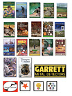 Garrett Metal Detector Books; Great For Detecting & Gold, Pick Out Your New Book