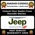 RADIO CODE 45 T00 AM, T00BE,TM9, TZ, TB  DODGE WAGONEER LIBERTY CODES PIN UNLOCK
