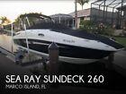 2014 Sea Ray Sundeck 260 Used