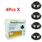 4PCS Dummy Fake Security Camera Dome CCTV Flashing Red LED Light Home Camera