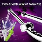 Anal Douche Enema Anus Nozzle Wash 7 Holes Head Shower Handheld Cleaner Top