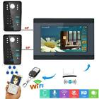 7inch Wired Wifi LCD monitor Remote APP RFID Password Video Door Phone Doorbell