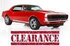 1967 Chevrolet Camaro Aluminum Heads, 4-Speed 1967 Chevrolet Camaro Aluminum Heads, 4-Speed