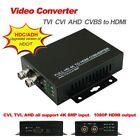 HD Video Converter TVI AHD CVI CVBS to HDMI 1080P output HD coaxial Output HDC/T