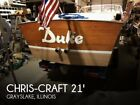 1965 Chris-Craft 21 Super Sport Used