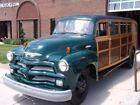1954 Chevrolet 4400 WOODY ESTATE BUS 1954 Chevrolet 4400 WOODY ESTATE BUS 61180 Miles GREEN Wagon  Manual