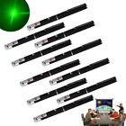 10PCS 2in1 532nm Green Laser Pet Pointer Pen Ray + Star Cap