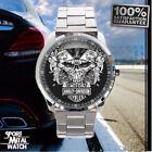 RARE 2018! Harley Davidson logo metal sport metal watch