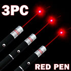 3 Packs 650nm RED Laser Pet Training Pointer Pen Beam Single Ray US Stock
