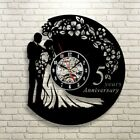Anniversary Exclusive Wall Clock Made of Vinyl Record GIFT-Decorate Your Home