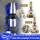9005+9006 Combo 240W 22000LM COB LED Headlight Kit High & Low Beam Light Bulbs