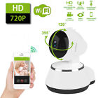 Wireless WiFi 720P HD CCTV Security IP Camera Pan Baby Monitor/Memory Card Lot
