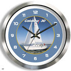 CATALINA 30 METAL WALL CLOCK yacht boat 30 ft sailboat