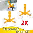 2X Auto Car Windscreen Windshield Repair Tool Set DIY Glass Crack Care Kits