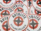 "Vintage 3"" Autolite Spark Plugs Sticker Decal Ford Hot Rod Galaxie Falcon FOMOCO"