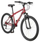 "Mongoose 27.5"" Montana Comp Bike Men's Aluminum Frame Mountain Bicycle-Red"