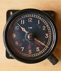 Vintage Aircraft Clock MKII D ER 6A/1150  8 Day WWII crown symbol A.M