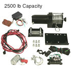NEW WINCH MOTOR ASSEMBLY WITH REMOTE 2500LB CAPACITY FIT HONDA ATV UTV RW00703