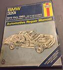 Haynes Repair Manual 18025 (276) 1975-1983 BMW 320i All 4cyl Models Service Book