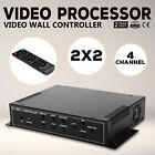Mophorn 4 Channel HDMI VGA AV Video Wall Controller 2x2 Video Wall