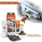 Car Head Light Cleaner Brightener Headlight Lenses Restoration Clean Polish Kit