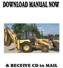 Ford D SERIES 575D backhoe loader repair service manual on CD