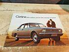 1967 FORD CORTINA Australian Sales Brochure GT 240 440