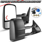 For 03-06 Silverado Tahoe 1500 Towing Mirrors Tow Power Heated Arrow Signals