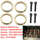 4X Copper Exhaust Gasket For Yamaha Snowmobile Apex RX1 LTX Attak Nytro Vector